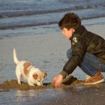 Boy-with-Dog