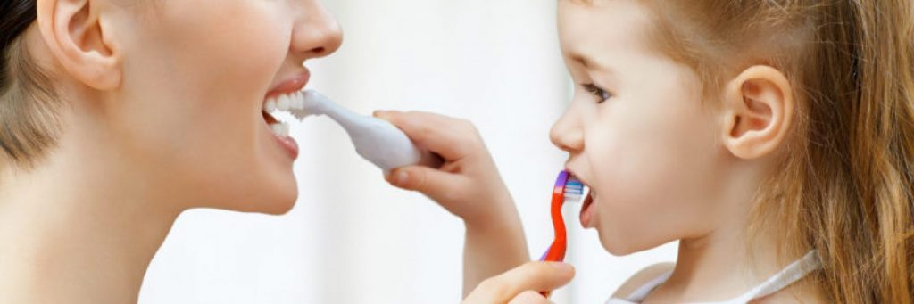 kids dental habit